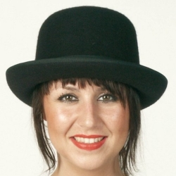 Chapeau boule luxe noir