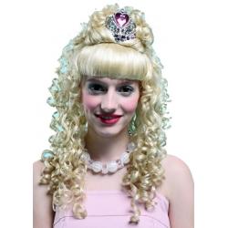 Perruque de princesse