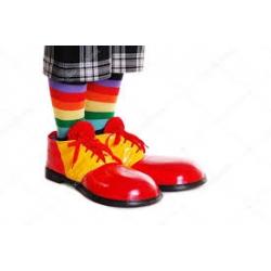 Chaussure clown géant