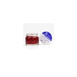 Gel paillette 15 ml rouge