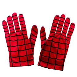 Gants spiderman licence