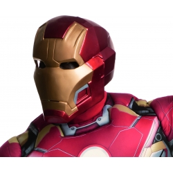 Casque iron man 2 pieces