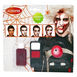 kit zombie homme
