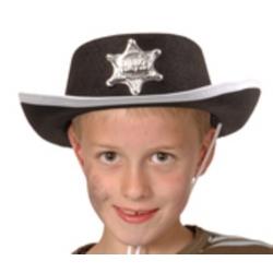 Chapeau cowboy enfant noir