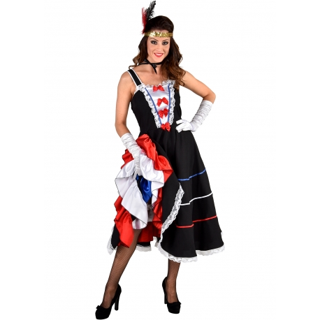 French cancan femme