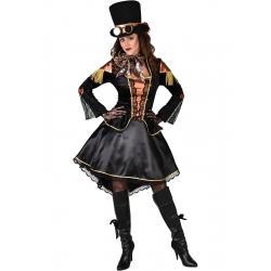 Steampunk noir robe