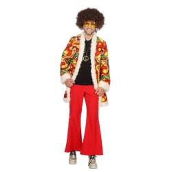 Hippie homme rouge