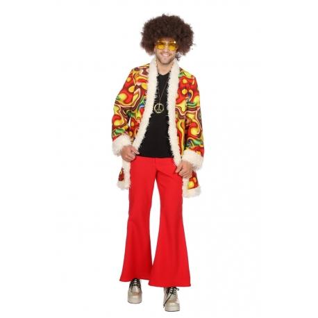 Hippie homme rouge