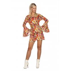 Hippie femme couleur