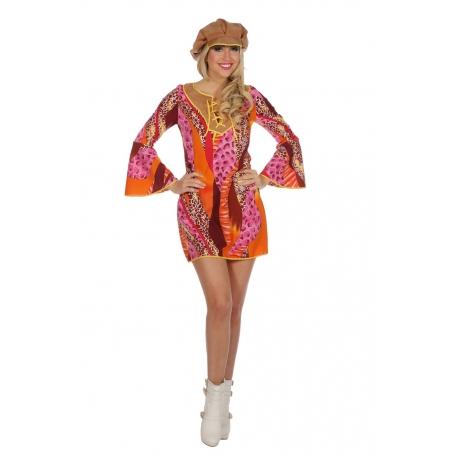 Hippie femme colorée