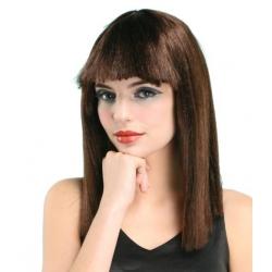 Perruque  de dame brune