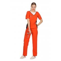 Prisonnière orange