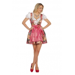 Oktoberfest femme rose