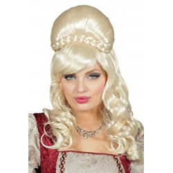 Perruque reine blonde