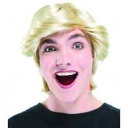 Perrruque blonde homme