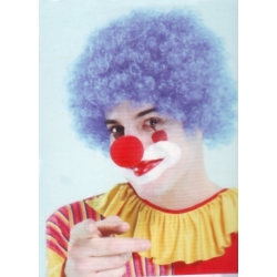 Perruque Clown bleu