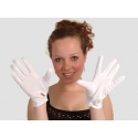 Gants blancs ordinaire avec pression