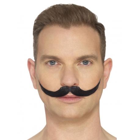 Moustache anglaise noir
