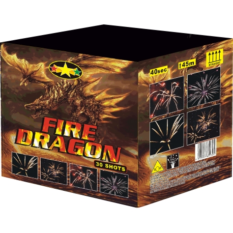 Batterie artifice fire dragon