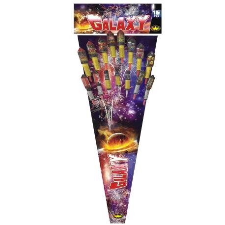 Fusées artifices galaxy 12 fusées
