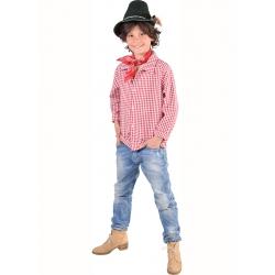 Chemise tyrolienne enfant