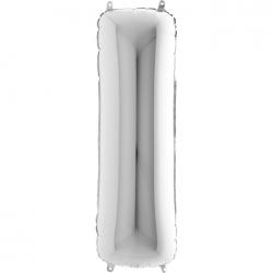 Lettre aluminium H 102 cm