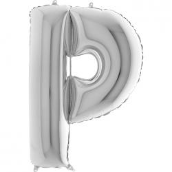 Lettre aluminium P 102 cm