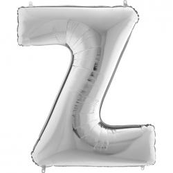 Lettre aluminium Z 102 cm