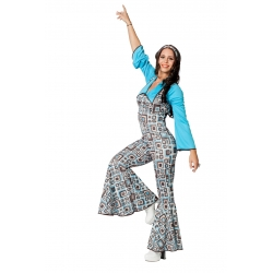 Salopette disco femme
