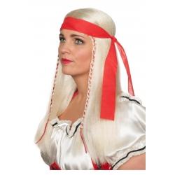 Perruque pirate dame blonde