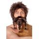 Moustache et barbe avec tresses