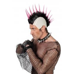 Perruque Punk mauve