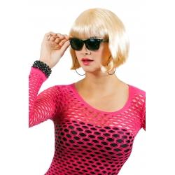 Perruque carré blonde