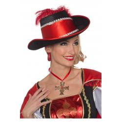 Chapeau mousquetaire femme