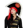 Chapeau  pirate tete de mort