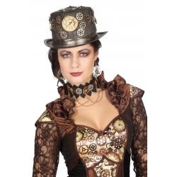 Chapeau steampunk femme luxe