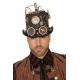 Chapeau steampunk avec lumières