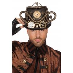 Chapeau steampunk avec lunette