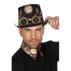 Chapeau steampunk chaines