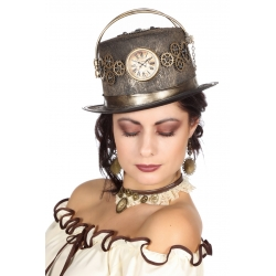 Chapeau steampunk femme