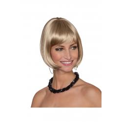 Perruque blonde carré