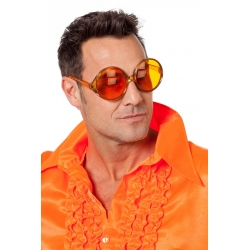 Lunette gros verres orange