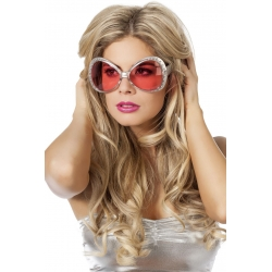 Lunette disco rose