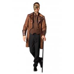 Manteau et gilet steampunk