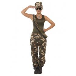 Déguisement militaire fille