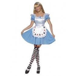 Alice fille bleu