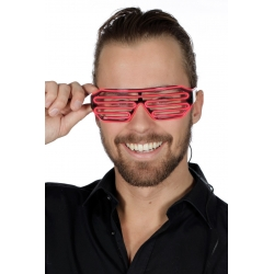 Lunette led rouge