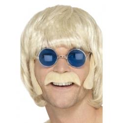 Perruque blonde année 70