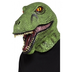 Masque latex dinosaure