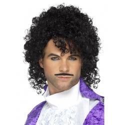 Perruque prince chanteur